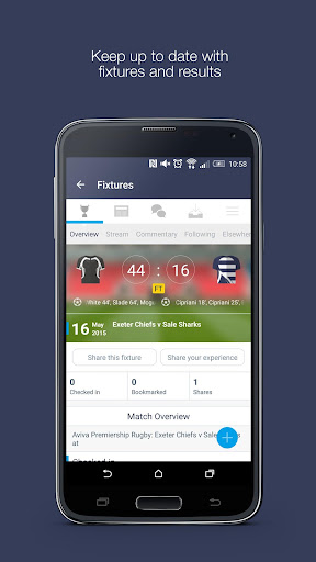 Fan App for Sale Sharks