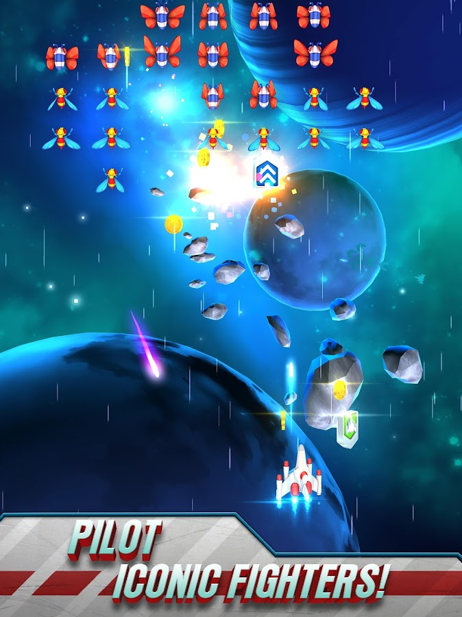 Galaga Wars- screenshot