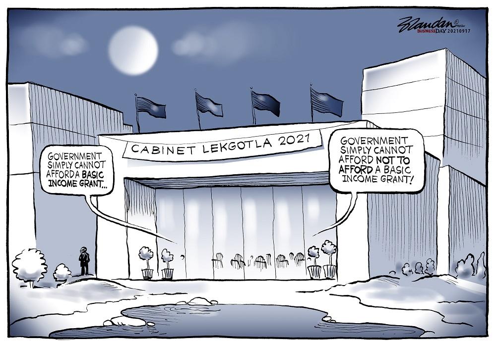 CARTOON: Big debate at ANC lekgotla