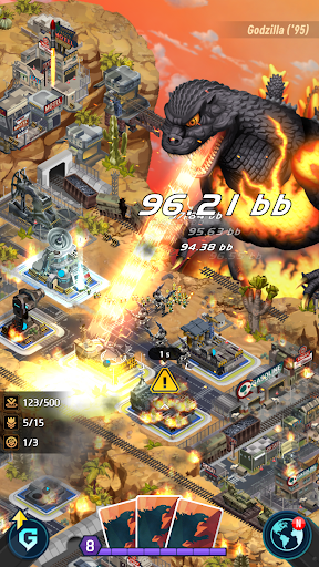 Godzilla Defense Force 2.2.5 APK MOD screenshots 1