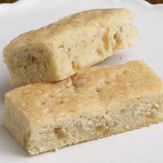 Double Ginger Shortbread Cookies.