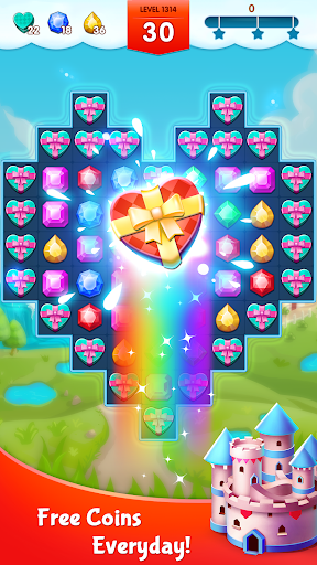 Jewels Legend - Match 3 Puzzle apkdebit screenshots 5