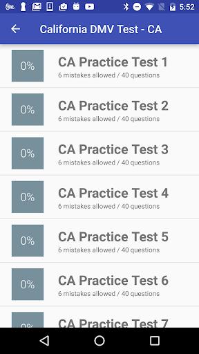 California DMV Practice Test 2018  screenshots 7