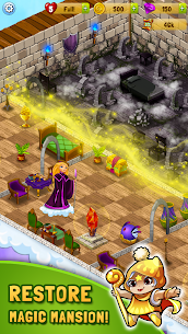 Merlin and Merge Mansion Mod Apk (Unlimited Money) 3