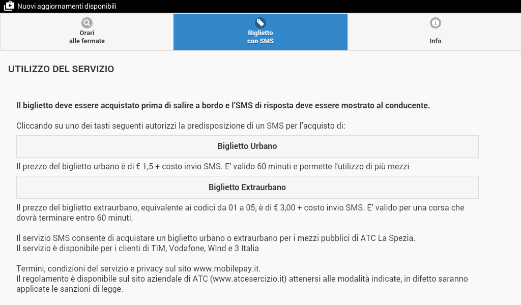 ATC mobile La Spezia- screenshot