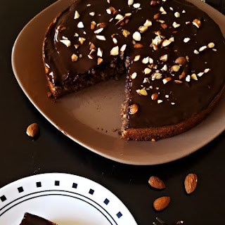 Gluten-Free Almond Chocolate & Chestnut Torte