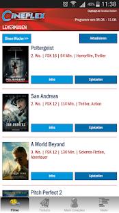 CINEPLEX Kinoprogramm- screenshot thumbnail