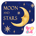 Cute wallpaper-Moon and Stars- icon
