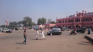 Photo: the train station in sawai madhopur