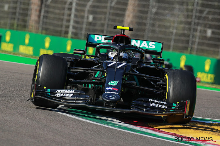 Bottas klopt Hamilton voor de pole bij terugkeer F1 in Imola, Gasly start van op tweede rij