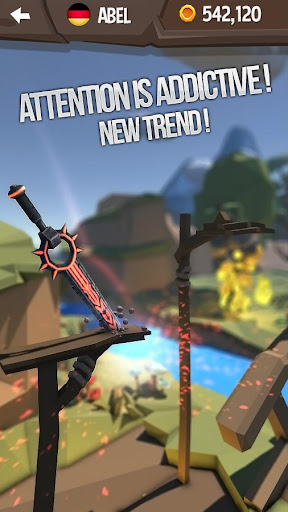 Flip Knife 3D: Knife Throwing Game  screenshots 4