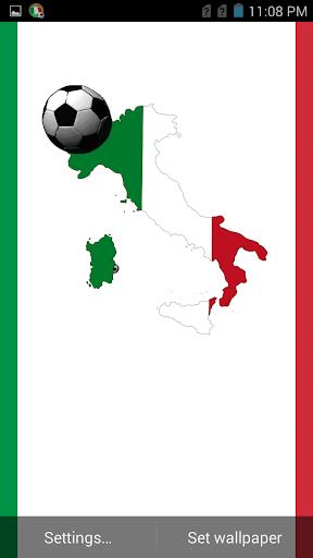 イタリアサッカーアニメーションの背景