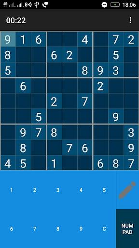 Ekstar Sudoku game (apk) free download for Android/PC/Windows screenshot