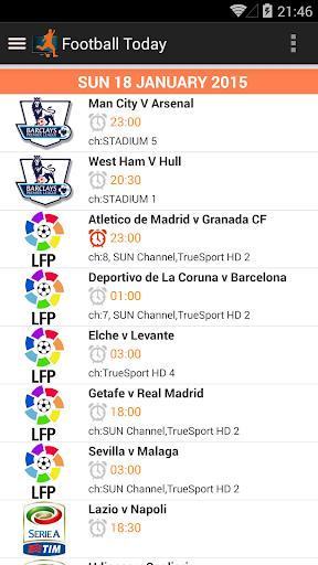 Football Today 4.0 screenshots 1