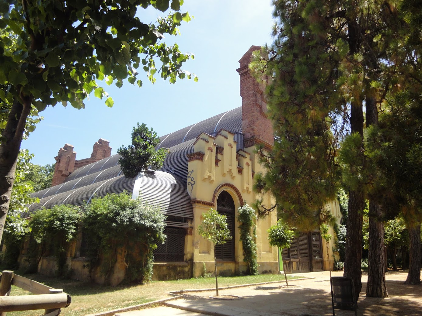 Umbracle au Parc Ciutadella à Barcelone