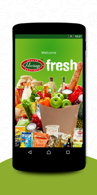 Heritage Fresh Online- screenshot