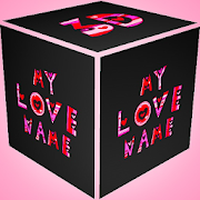 3D My Name Love Live Wallpaper  Icon