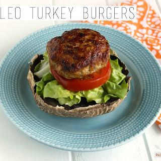 Paleo Turkey Burgers