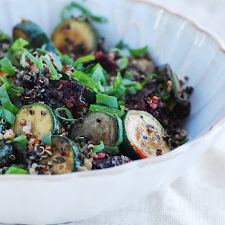 Quinoa, Zucchini And Beetroot Salad