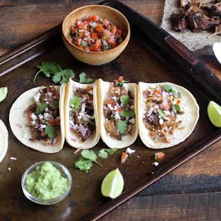 Pork Carnita Tacos.