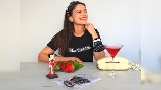 María del Mar López es la creadora de la firma de moda Mar Lo·Mon.
