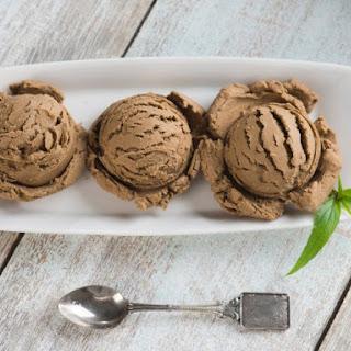 Three-Ingredient Chocolate Ice Cream.