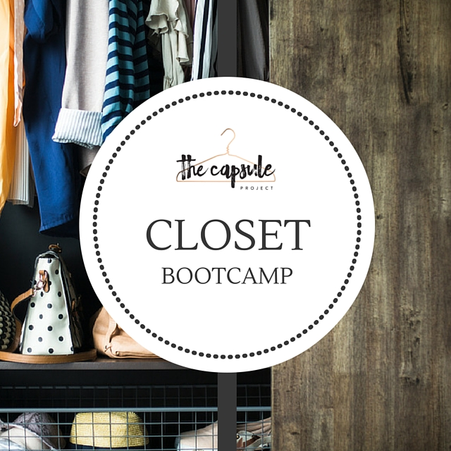 Get your closet streamlined in 7 days!