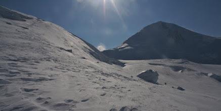 Photo: Summit Plateau and East Peak of Mount Logan.