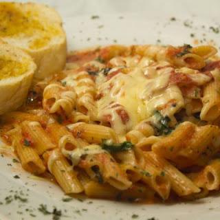 Macaroni Grill's Famous Mostaccioli Copycat.