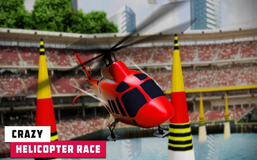Flying Helicopter Simulator 2019: Heli Racer 3D  screenshots 6