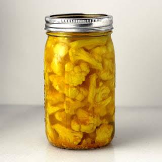 Hot Pickled Cauliflower Recipes.