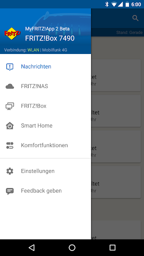 MyFRITZ screenshot 1