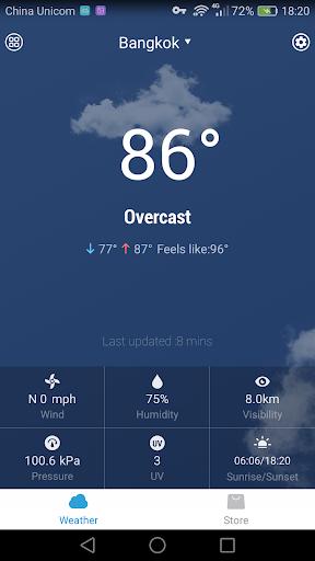 玩免費天氣APP|下載정확한 날씨 기상(7 일 일기 예보)위젯 -- 날씨오늘 app不用錢|硬是要APP