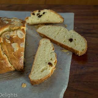 Plaited sweet yeast bread (Hefezopf).