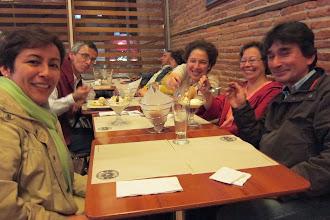Photo: Sandra, Julio Mario, Maria Delfina, Patricia , Enrique Guzman