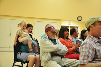 Photo: Okay, maybe some of the audience was wriggly.