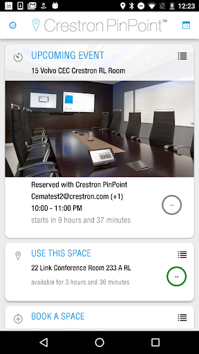 Crestron PinPoint app (apk) free download for Android/PC/Windows screenshot