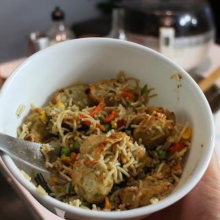 Asian Dumpling Ramen Bowl
