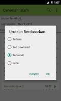 Screenshot of Ceramah Islam