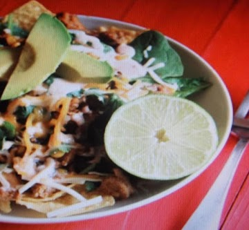 Honey Lime Turkey Salad Plate Recipe