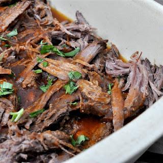 Crockpot Paleo BBQ Pulled Beef