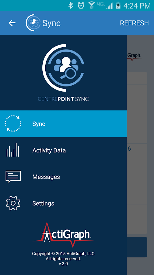 CentrePoint Sync- screenshot