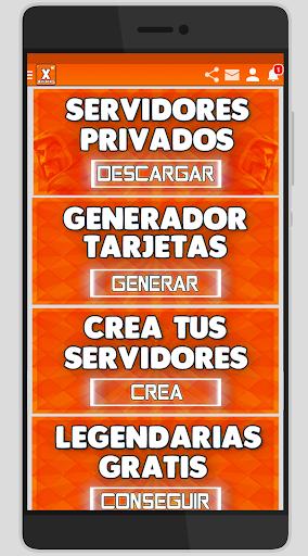 X Servidores - Clash R. y Clash of C. for PC