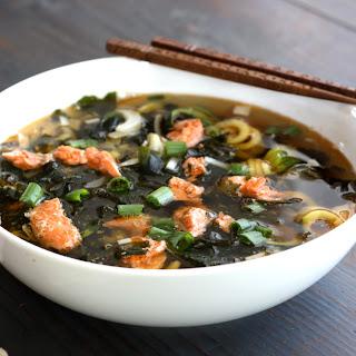 Salmon Head Soup.