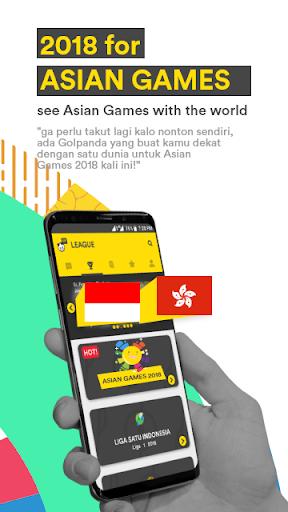 Golpanda for Asian Games 2018 & Gojek Liga Satu 1.6.2 screenshots 1