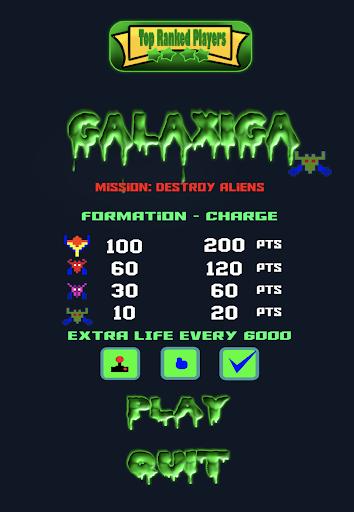 Galaxiga - Space Shooter  screenshots 8