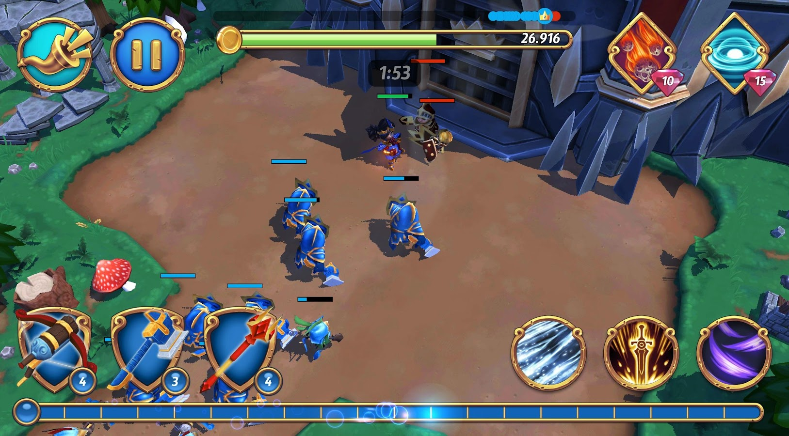 Royal Revolt 2- screenshot