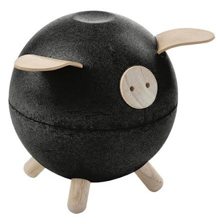 Plan Toys Piggy Bank Black Set
