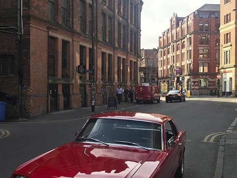 Ford Mustang Hire Manchester
