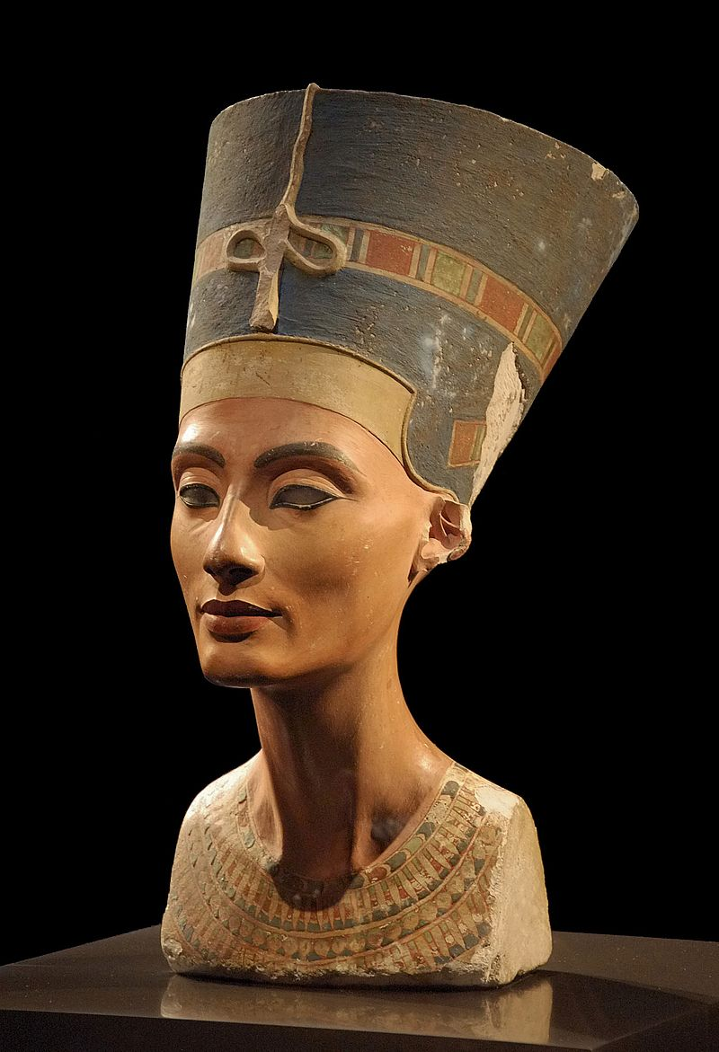 Thutmose, Ancient Egypt - Bust of Nefertiti, 1345 BC